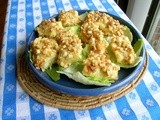 Banana croquettes or banana salad