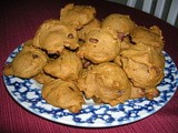 Chocolate chip pumpkin cookies