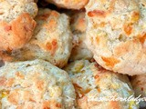 Corn fritter biscuits