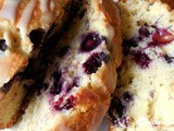 Simple blueberry loaf cake