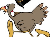 Turkey talk about thanksgiving