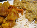 An Indian Feast: Yogurt Curried Fish and Orange Scented Cauliflowers & Potatoes