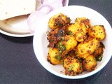 Baby Potatoes In Onion Fenugreek Masala