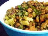Boiled Mung Bean Salad