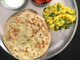 Dal Paratha: Flatbread with Chana Dal Stuffing