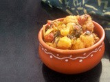 Gobhi Kasoori Methi: Cauliflower, Fenugreek and Dried Cranberries