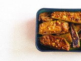 Green Eggplant in Mustard-Fenugreek Masala