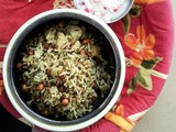 Methi Moongphali Chawal: Fenugreek Peanut Rice