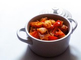 Red Capsicum Curry for Rushed Days