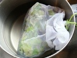 Washing Salad Greens