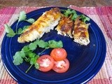 Low-Cal Chicken Enchiladas