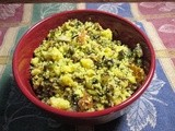 Wild Rice Cornbread Stuffing (lower calorie)