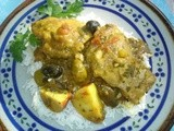Cicken and Olive Tajine