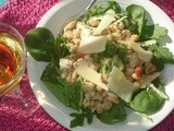 White Bean and Tuna Salad - Martha Monday