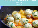 Root Vegetable Casserole with Parsley Dumplings | Vegan