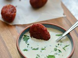 Beetroot koftas | Vgean snack for tea time