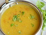 No oil Masoor dal | Healthy red lentils with roasted cumin and black pepper