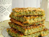 Vegan batzina (traditional greek zucchini pie)