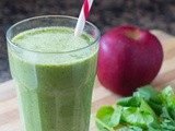 Apple Cinnamon Green Smoothie Recipe