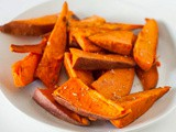 Baked Sweet Potato Spears Recipe