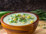 Creamy Zucchini and Corn Soup Recipe [video]