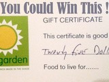 Giveaway!! $25 to Sun Garden Cafe, Siesta Key, fl | #sarasota #giveaway #freefood