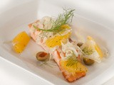 Seared Salmon with Oranges and Fennel Recipe [video]