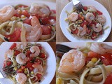 Summer Shrimp Pasta