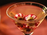 The Grossest Martini Ever for Halloween: the Eyeball Martini Recipe [video]