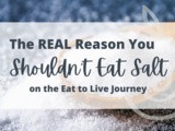The Real Reason You Shouldn't Eat Salt