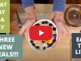 What i Eat in a Day//New Meals To Try// Eat to Live //Nutritarian //Vegan//sos Free