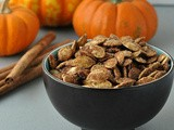 Cinnamon & Sugar Pumpkin Seeds