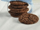 Dark Chocolate and Orange Cookies