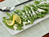 Green Beans with Lemon Aioli