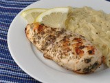 Grilled Chicken with Lemon, Capers, and Oregano