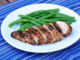 Herbed Balsamic Grilled Chicken