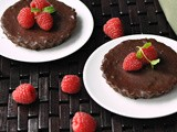 Individual Raspberry Chocolate Tarts