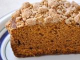 Pumpkin Bread with Crumb Topping