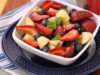 Red, White & Blueberry Fruit Salad