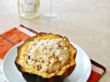Risotto-Stuffed Acorn Squash ~ Guest Post by The Redhead Baker