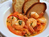 Roasted Pepper Shrimp Saute