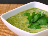 Silky Spinach Soup