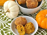 Sugar & Spice Pumpkin Mini-Muffins