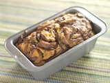 Banana Nutella Pumpkin Bread [Secret Recipe Club]