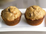 Peanut Butter Chocolate Chip Banana Muffins [Secret Recipe Club]