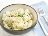 Potato and Zucchini Salad with Dill