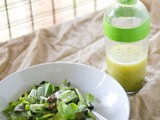 The Basics of a Vinaigrette and an oxo Salad Dressing Shaker Giveaway