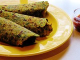 Methi and sesame seeds paratha