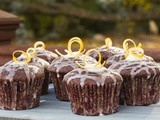 Chanukah Treats, Day #7: Dark Chocolate Olive Oil Cupcakes