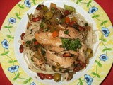 Chicken with Olives and Preserved Lemon